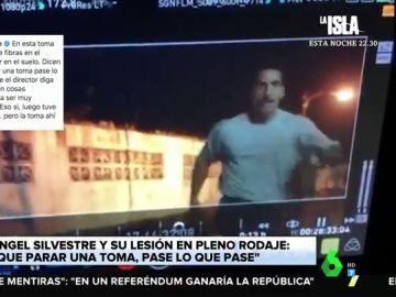 La escena más accidentada de Miguel Ángel Silvestre