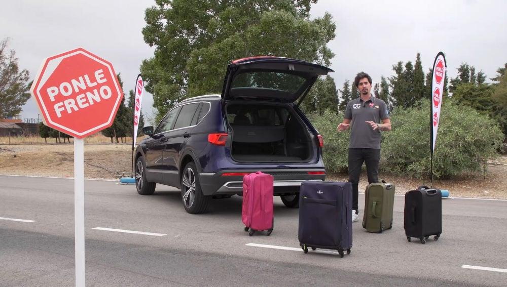 Es muy importante cargar el maletero de forma correcta para una conducción segura