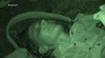 """Angie se desvanece y aparece tirada en la arena """"bastante chunga"""""""