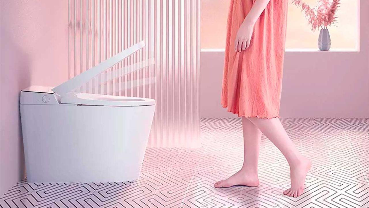 Xiaomi vende un inodoro que puedes controlar con la voz y se esteriliza solo