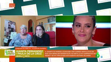 """La historia de amor que hace llorar a Pedroche: Juanita, la mujer que vivió """"en el cielo"""" gracias a su marido"""