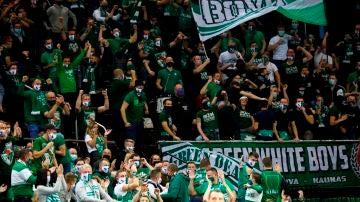 5.000 aficionados en el estadio del Zalgiris