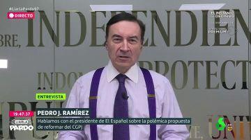 Pedro J. Ramírez en Liarla Pardo