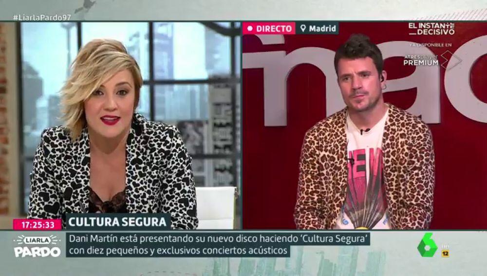 La crítica de Dani Martín a los políticos