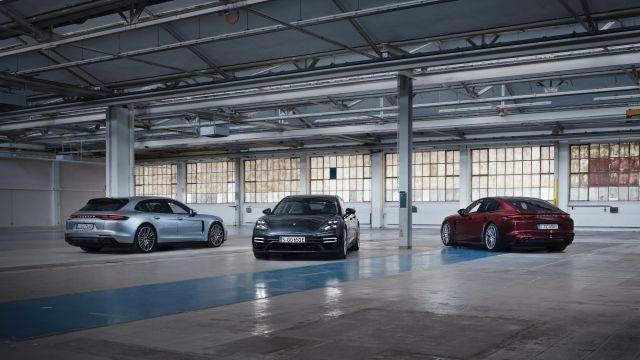 Porsche completa la gama Panamera con tres nuevas versiones