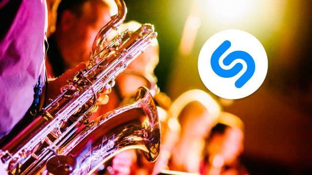 Caza canciones sin abrir Shazam