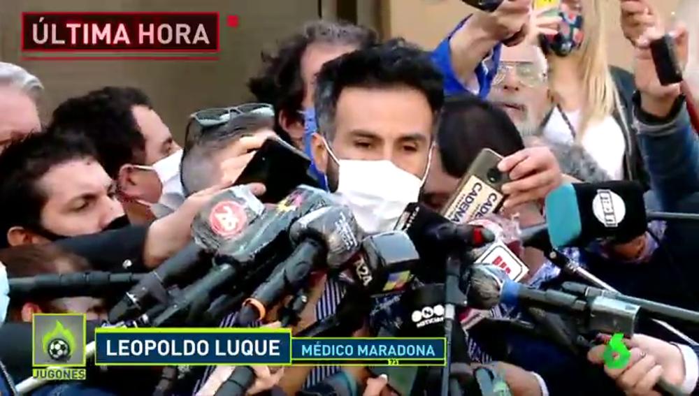Leopoldo Luque, médico de Maradona: