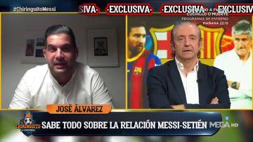 """José Álvarez cuenta la realidad del Barça de Setién: """"Intentaba explicar a Messi cómo controlar"""""""