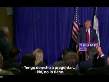 """Los periodistas latinos que """"molestaron con mucho orgullo"""" a Trump"""