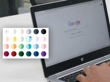 Dale un toque personal a Google Chrome