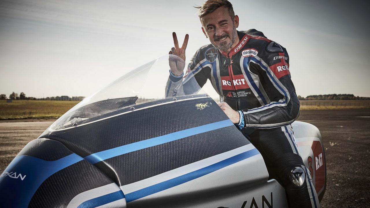 Max Biaggi bate 11 récords con la Voxan
