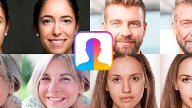 Diferentes transformaciones de la app