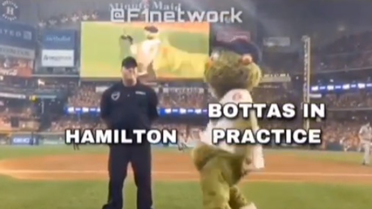 Meme de Hamilton y Bottas
