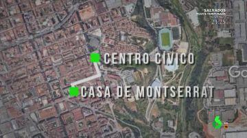 El rastro de Helena Jubany se pierde en la casa de Montserrat Careta