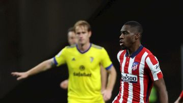 Kondogbia, con el Atlético