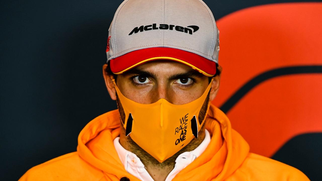 Carlos Sainz, concentrado