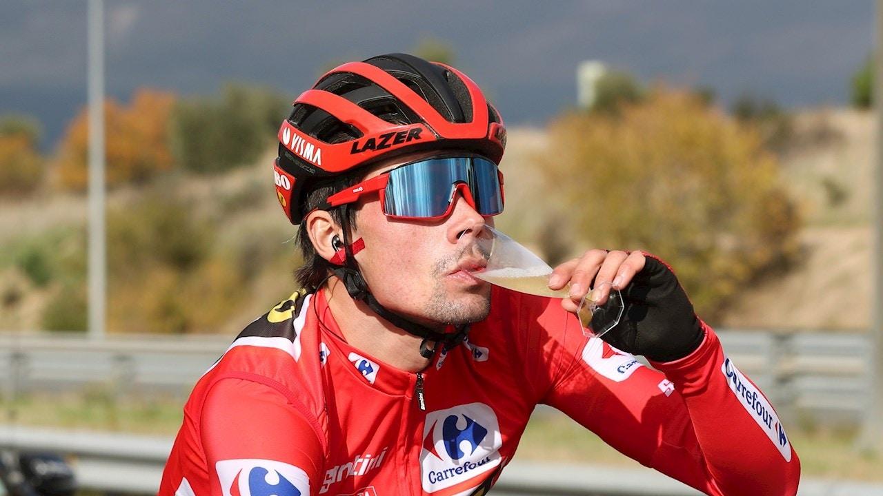 Pirmoz Roglic saborea la victoria en la Vuelta a España