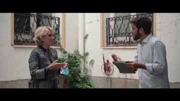 Esperanza Aguirre y Gonzo hablan en Salvados