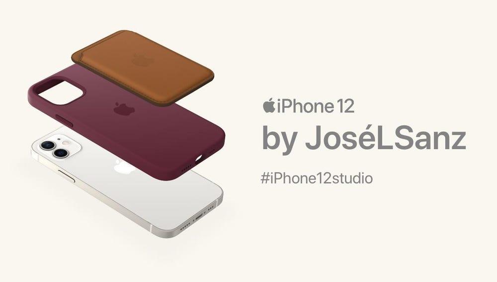 Nuevo diseño de iPhone 12.