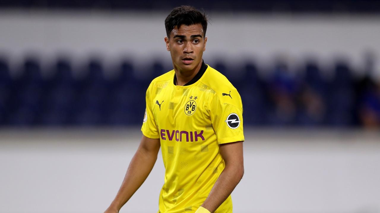 Reinier, con el Borussia Dortmund