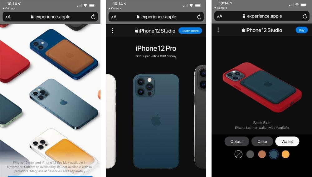 iPhone 12 Studio para personalizar tu propio teléfono.