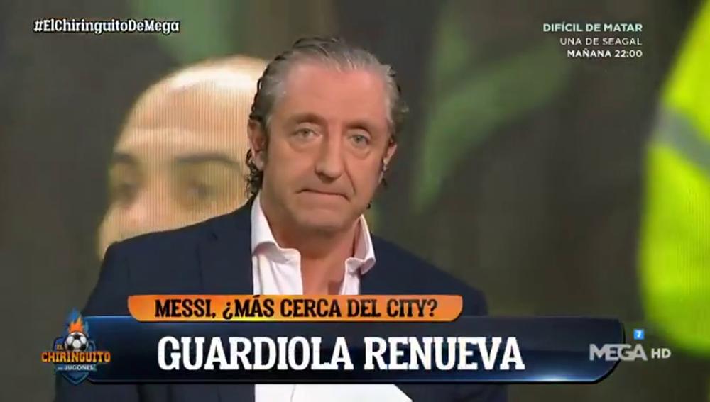 """Pedrerol, tras la renovación de Guardiola con el Manchester City: """"Messi se nos va"""""""