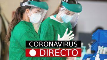 Coronavirus directo   Imagen de sanitarias con EPIs para protegerse del coronavirus