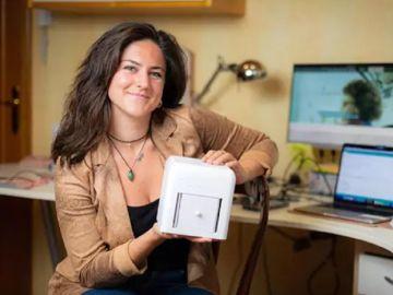 Imagen de Judit Giró, la española que ha creado un dispositivo para detectar el cáncer de mama
