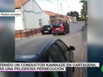 Un conductor kamikaze siembra el pánico en La Manga conduciendo en dirección contraria