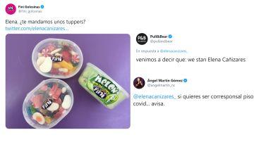 De Ángel Martín a Pull and Bear: así ha apoyado Twitter a Elena Cañizares, la joven que denunció la actitud de sus compañeras de piso tras dar positivo en COVID