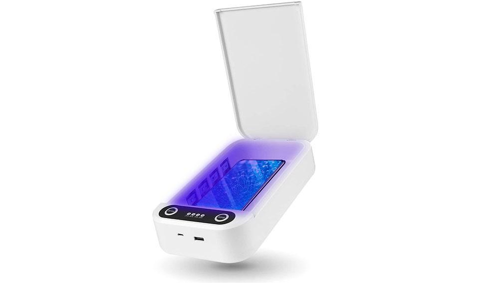 Esterilizador de móviles con aromaterapia