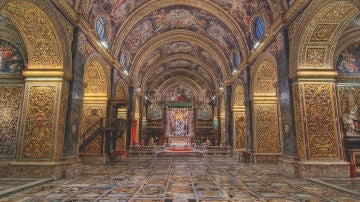 Concatedral de San Juan, la Valletta