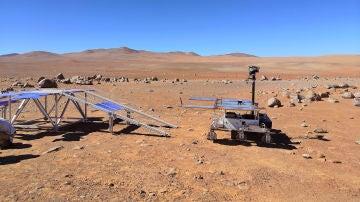 Matematicas para analizar la composicion de las rocas marcianas