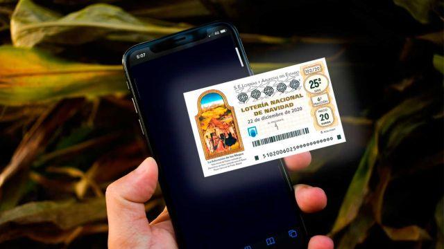 Compra tu décimo con el móvil con ayuda de estas apss