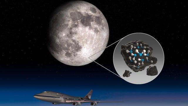 Confirmada la existencia de agua en la Luna