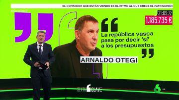 """Blázquez responde a Otegi: """"Ojalá se hubiera dado cuenta antes que el camino de la independencia pasa por la política y no por el terror"""""""