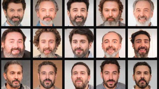 Avatares generados a partir de nuestra foto