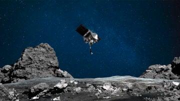 Exito de la mision OSIRIS REx de la NASA tras su breve aterrizaje en un asteroide