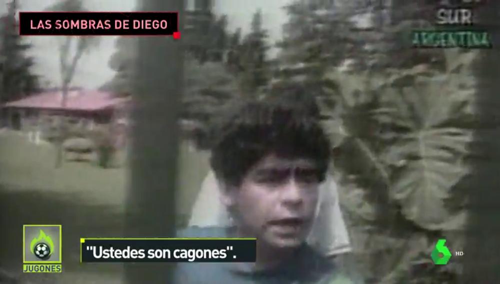 Las sombras de Maradona fuera del fútbol: drogas, alcohol