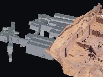 Constatan la precision en la construccion de las tumbas de las necropolis de Qubbet el Hawa de Asuan en Egipto