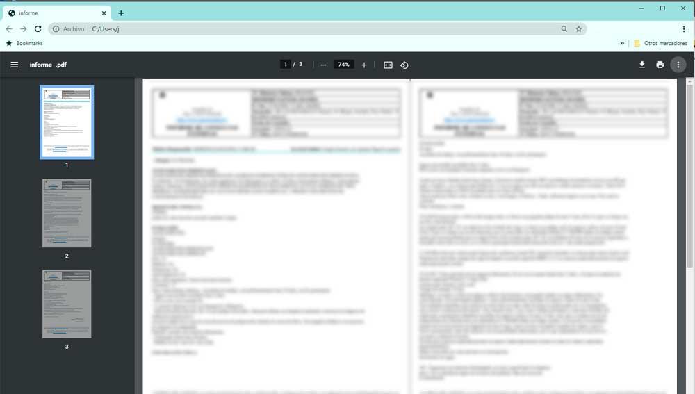 Así es el nuevo visor de pdf de Google Chrome