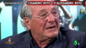 Jorge D'Alessandro rompe a llorar en 'El Chiringuito' por la muerte de Maradona