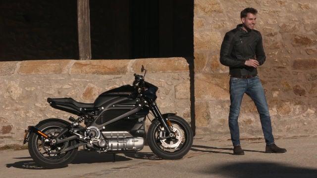 Es eléctrica, pero sigue siendo una Harley Davidson