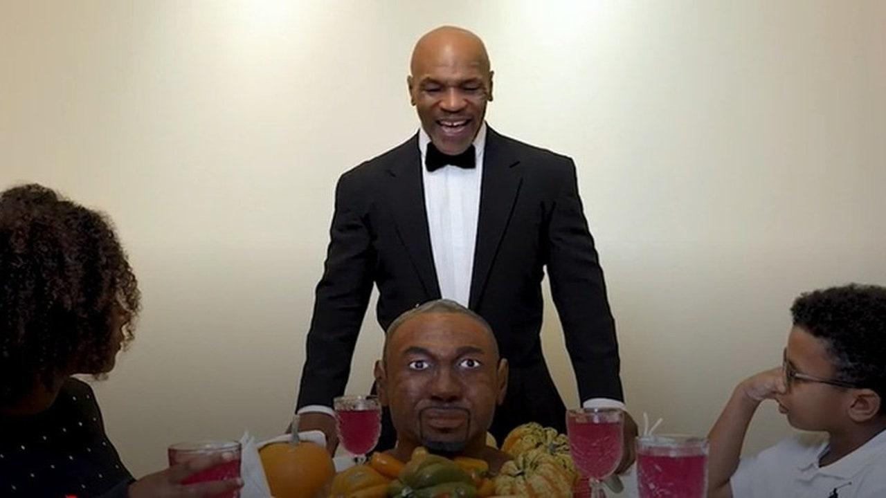 Mike Tyson se 'come' a oreja de Roy Jones