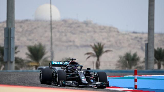 Lewis Hamilton GPBahrein 2020 Libres