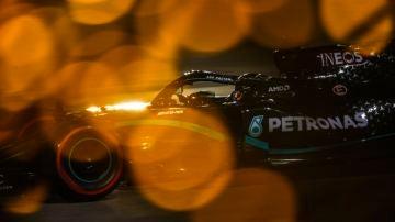 Lewis Hamilton GP Bahrein Quali