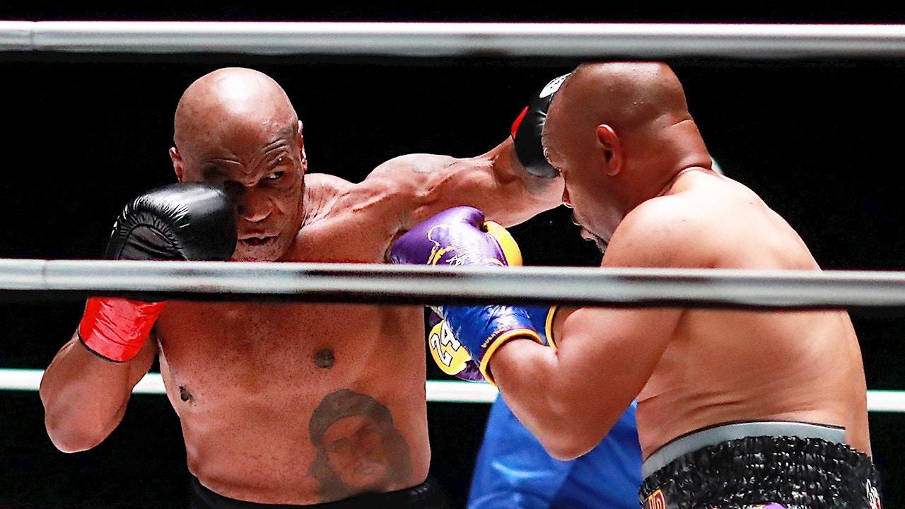 Mike Tyson, ante Roy Jones Jr.
