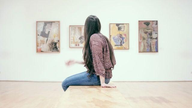 Admirando unas obras