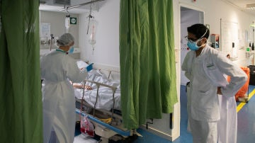 personal sanitario en el hospital