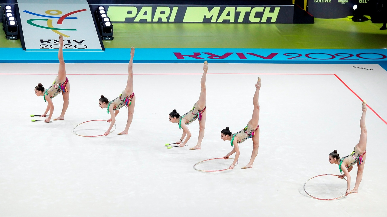 Imagen de archivo: campeonato de Europa de gimnasia rítmica 2020